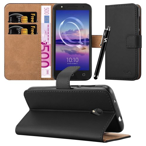 finest selection d2b9e f9d22 For Alcatel U5 HD (5047Y) Leather Wallet Case