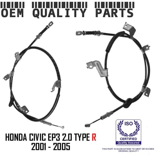 FOR HONDA CIVIC 2.0 EP3 TYPE R REAR RIGHT LEFT HAND BRAKE BRAKE CABLE CABLES