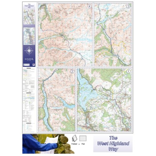 West Highland Way Route Map