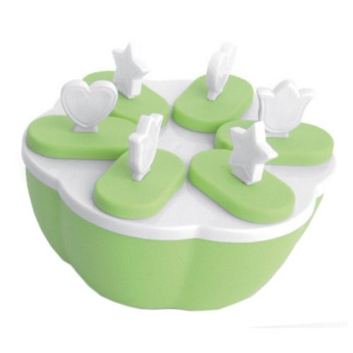 Reusable DIY Frozen Ice Cream Pop Molds Ice Lolly Makers-08