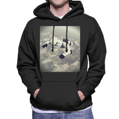Original Stormtrooper Skydiving Men's Hooded Sweatshirt