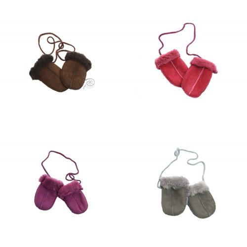Eastern Counties Leather Baby Sheepskin Mittens