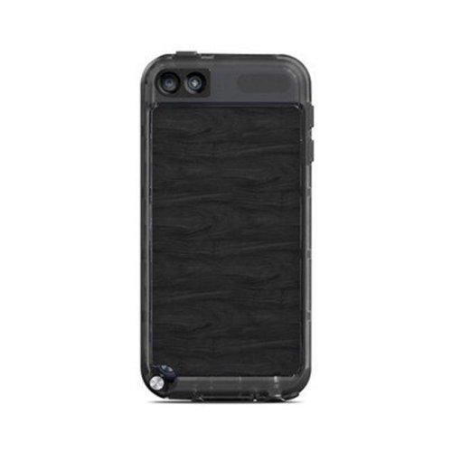 DecalGirl LIT5-BLACKWOOD Lifeproof iPod Touch 5G Case Skin - Black Woodgrain