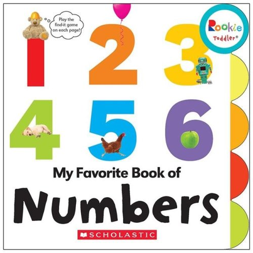 Scholastic Teaching Resources SC-662877BN Rookie Toddler My Favorite Book of Numbers Board Book - Pack of 3