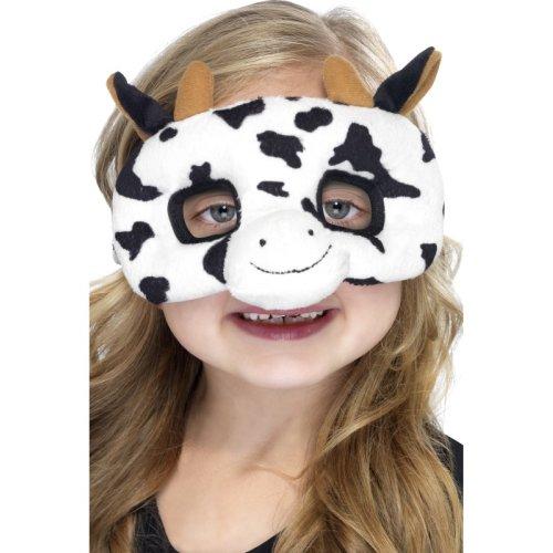 Kuhmaske children animal mask Cow mask eye mask plush costume Size